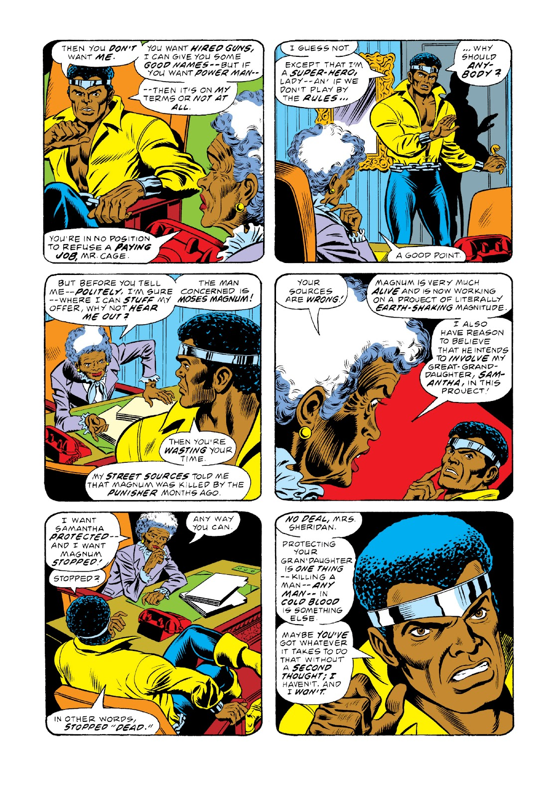 Read online Marvel Masterworks: Luke Cage, Power Man comic -  Issue # TPB 3 (Part 1) - 91