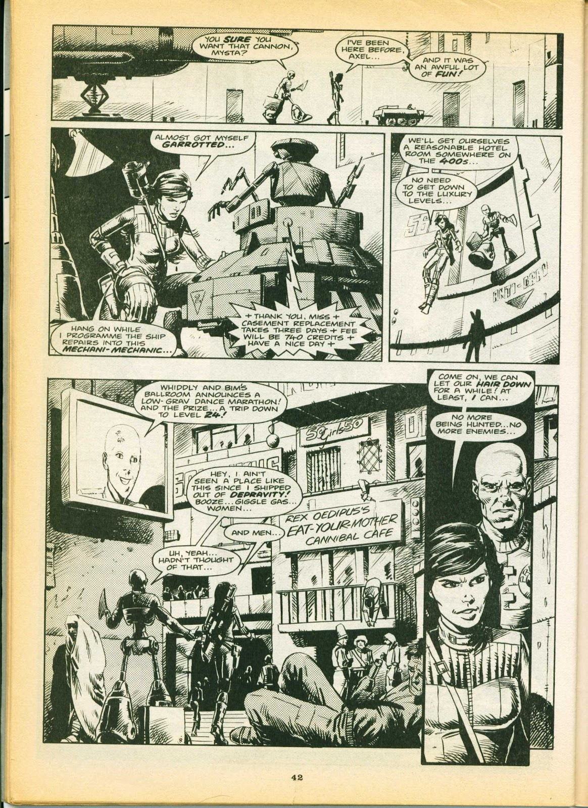 Warrior Issue #6 #7 - English 42