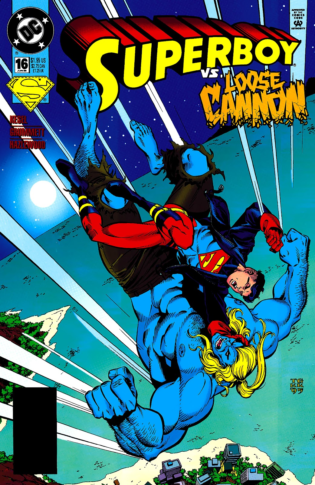 Superboy (1994) 16 Page 1