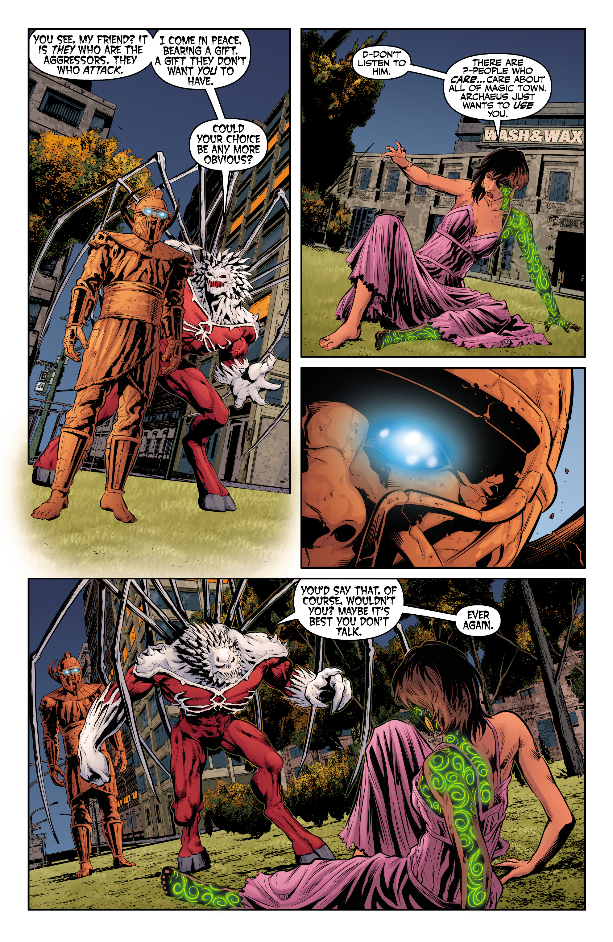 Read online Angel & Faith Season 10 comic -  Issue #24 - 19