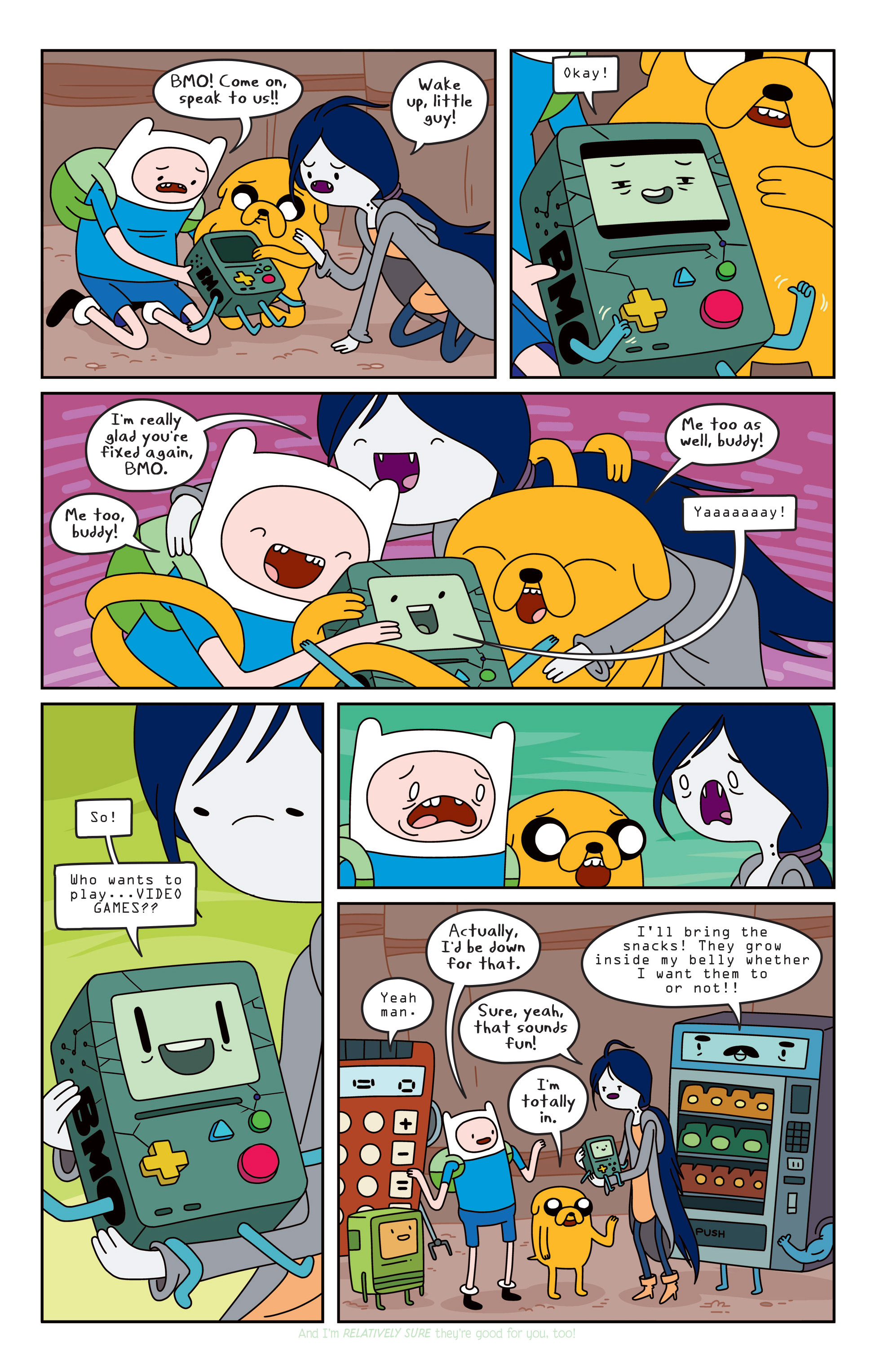 Read online Adventure Time comic -  Issue #Adventure Time _TPB 3 - 81