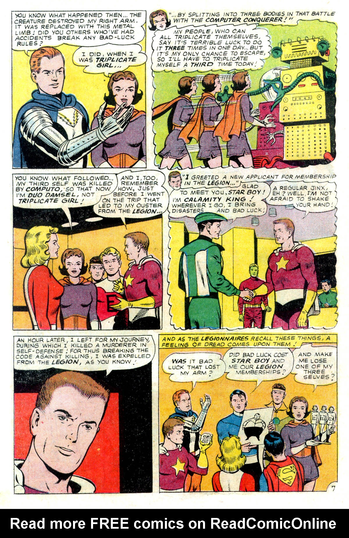 Read online Adventure Comics (1938) comic -  Issue #343 - 10