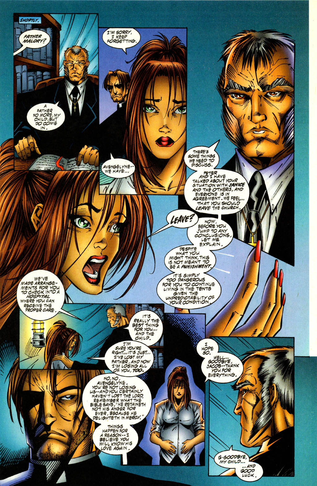 Read online Avengelyne (1996) comic -  Issue #2 - 7