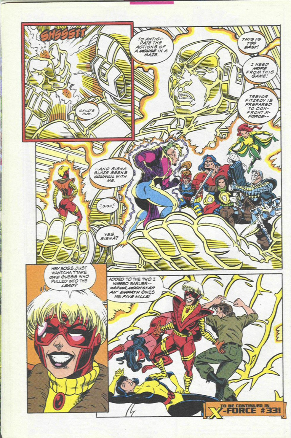 The New Warriors Issue #45 #49 - English 23