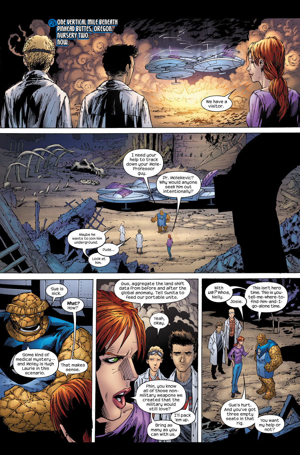 Read online Ultimate Fantastic Four (2004) comic -  Issue #58 - 11