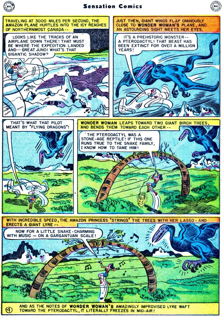 Read online Sensation (Mystery) Comics comic -  Issue #91 - 6