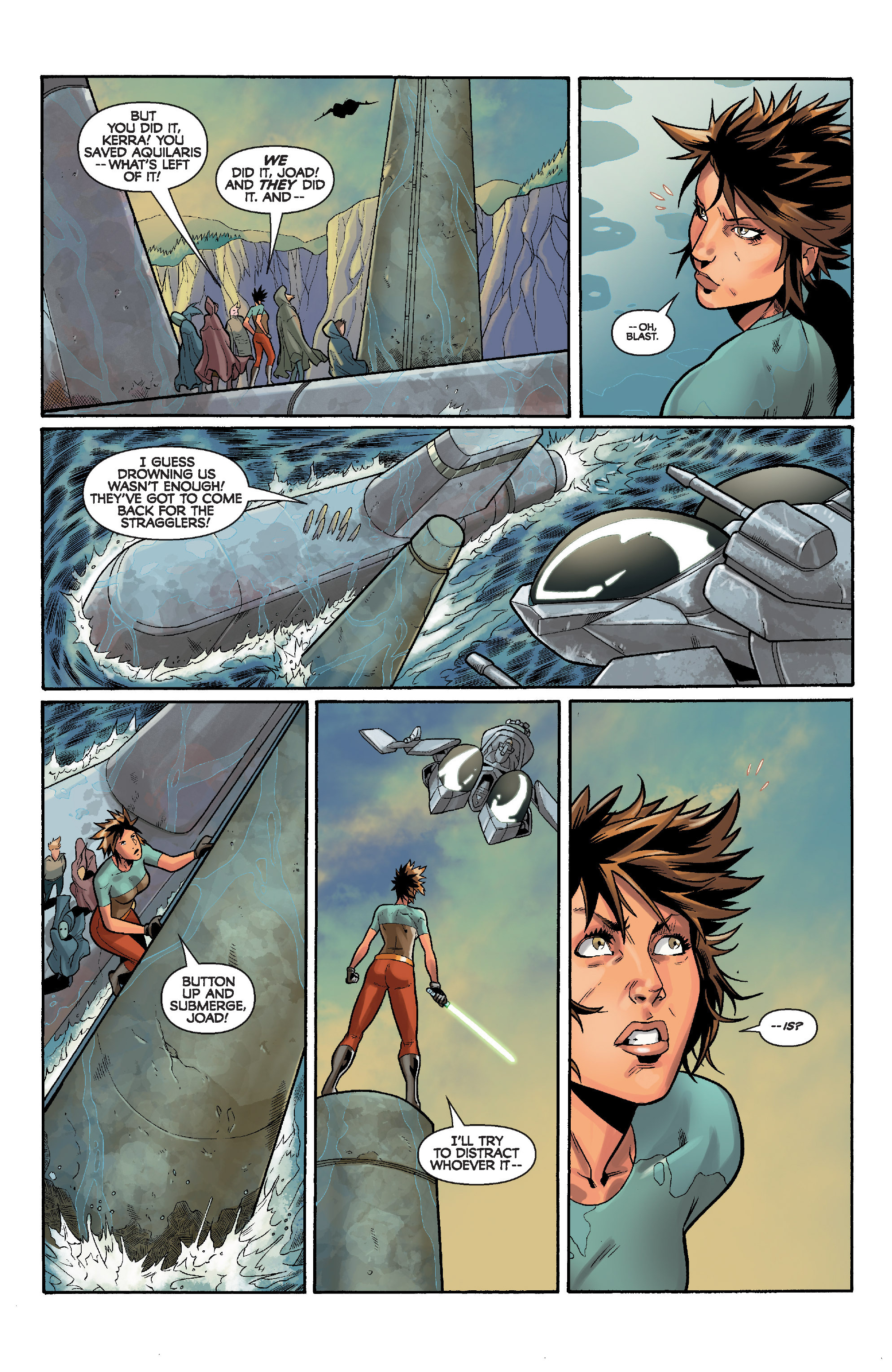 Read online Star Wars: Knight Errant - Deluge comic -  Issue #4 - 21