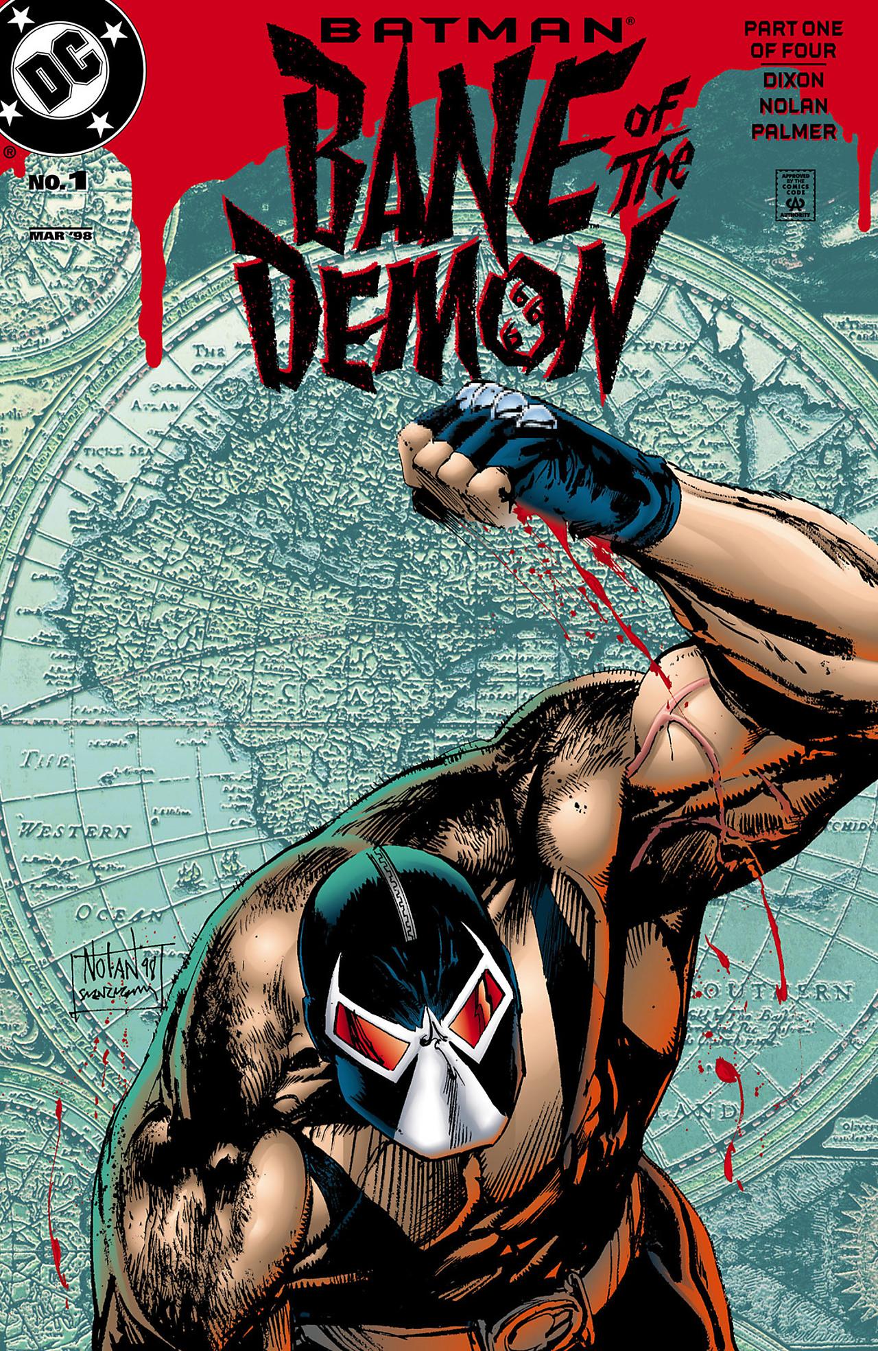 Batman: Bane of the Demon 1 Page 1