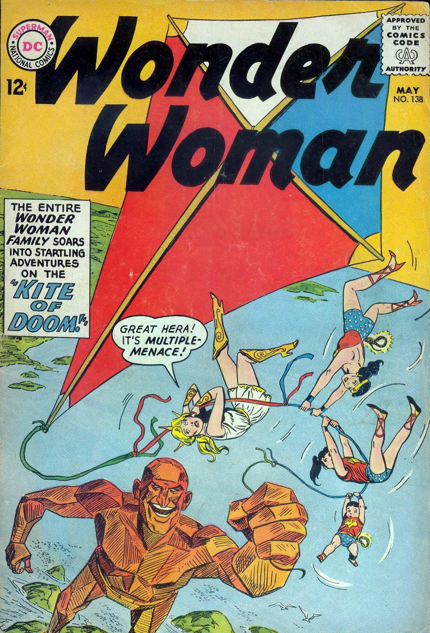Read online Wonder Woman (1942) comic -  Issue #138 - 1