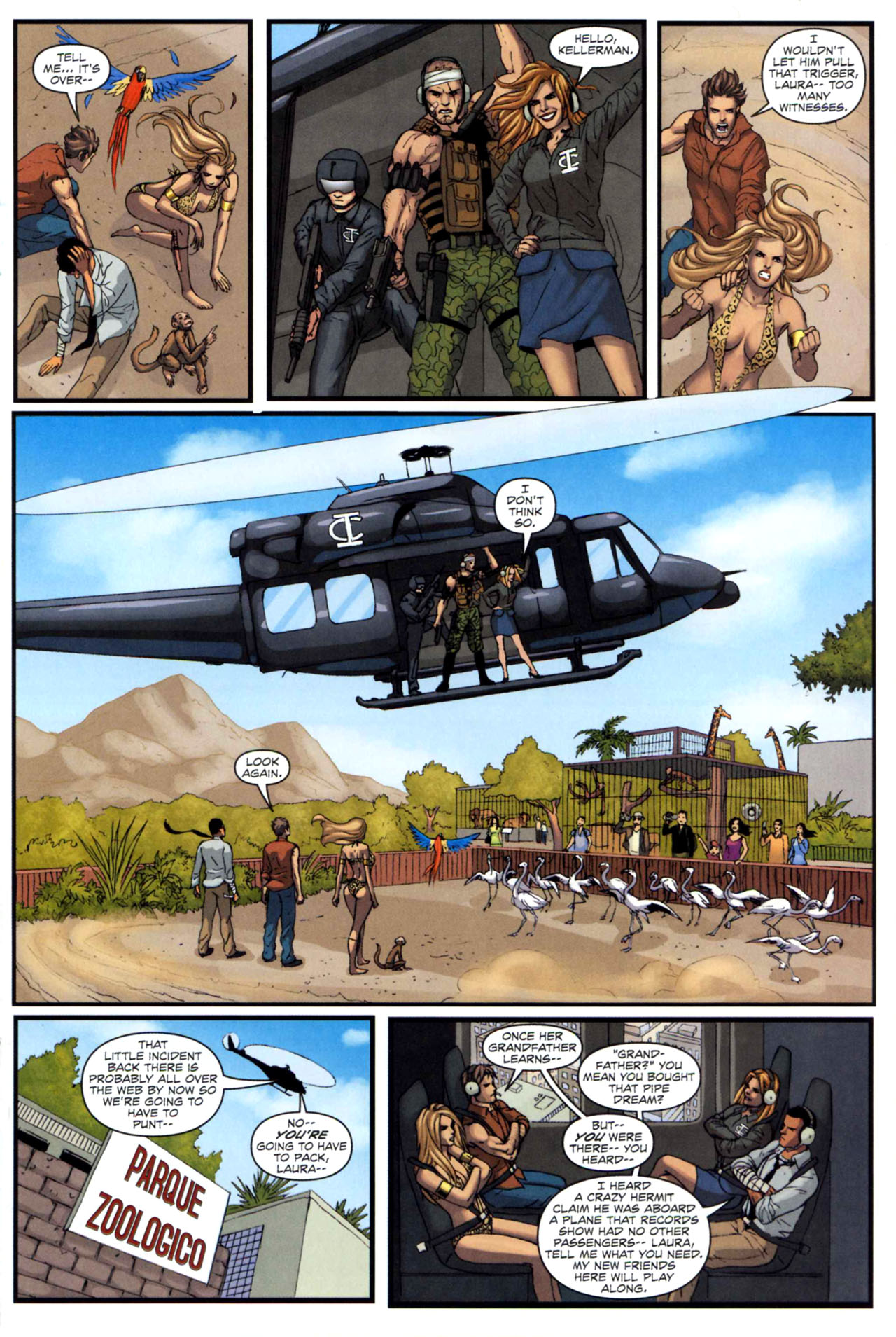 Read online Sheena, Queen of the Jungle comic -  Issue #5 - 21
