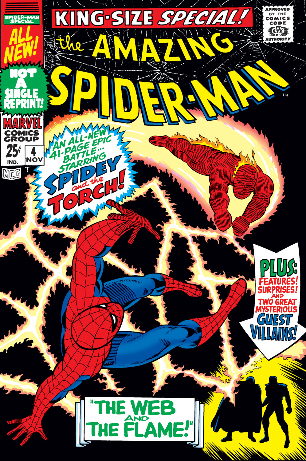 The Amazing Spider-Man (1963) _Annual_4 Page 1