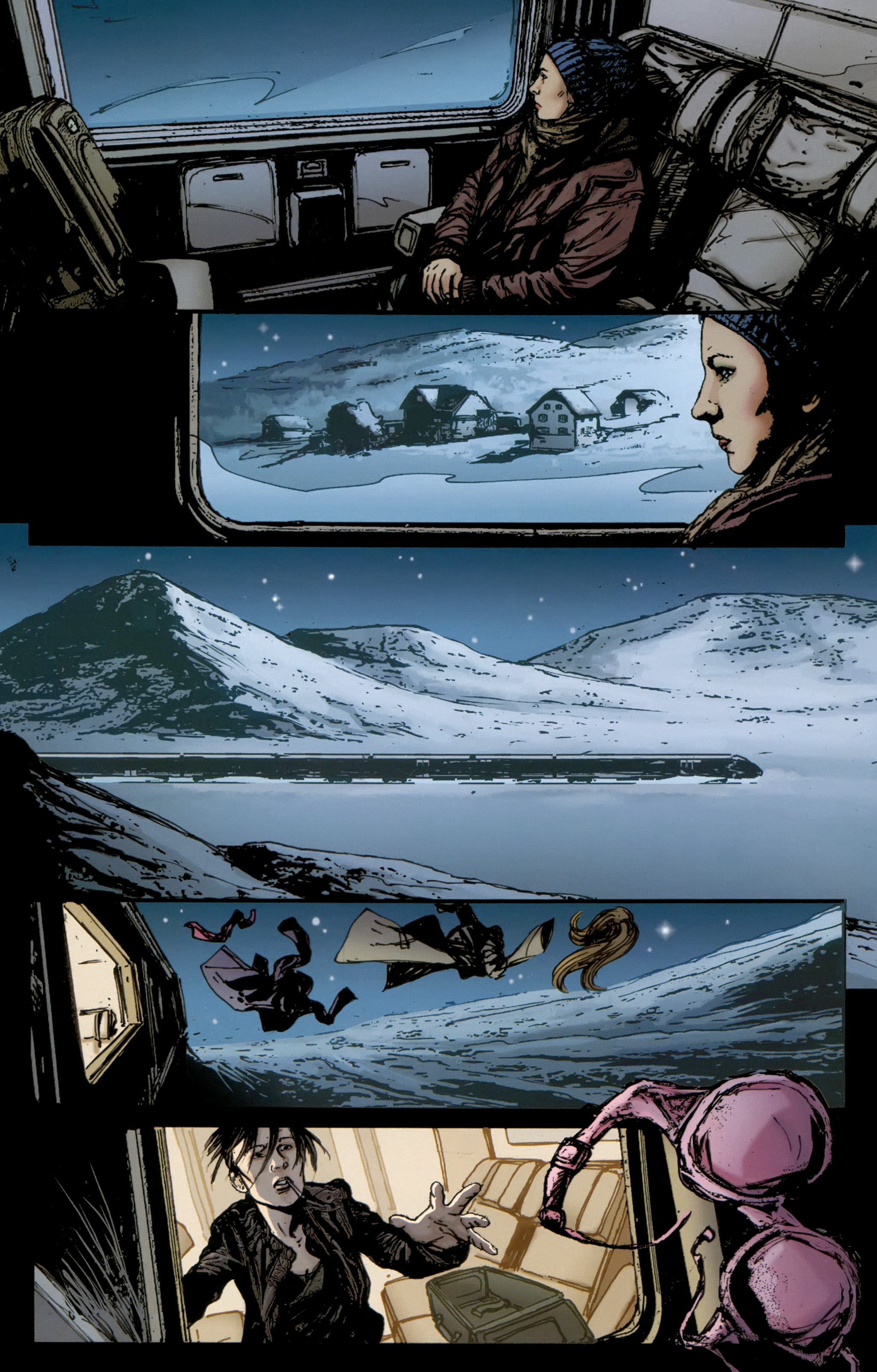 Read online The Girl With the Dragon Tattoo comic -  Issue # TPB 2 - 152