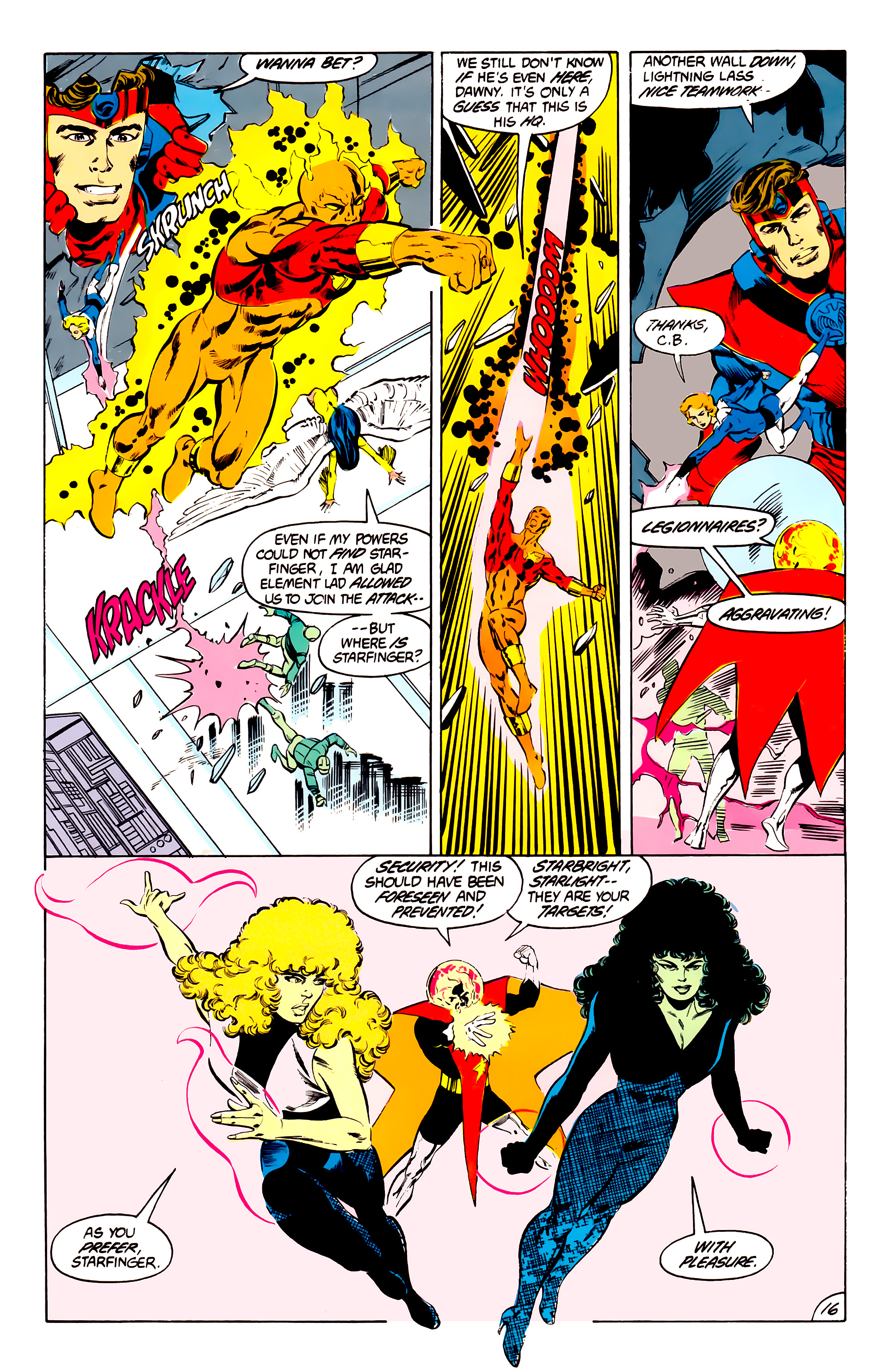 Legion of Super-Heroes (1984) 41 Page 16