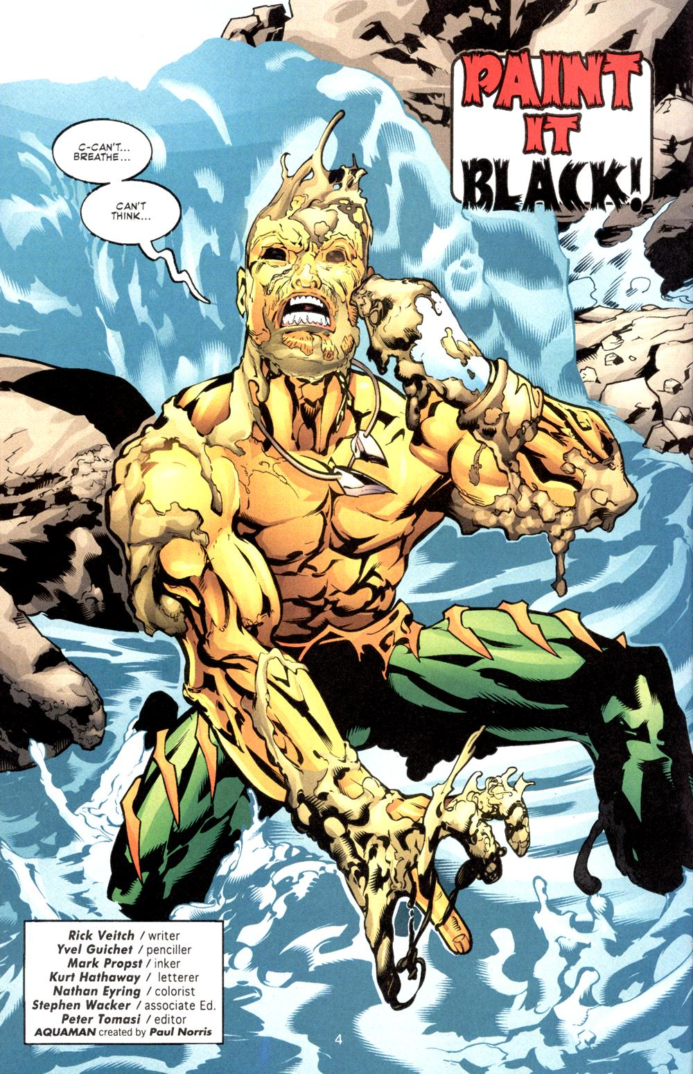Read online Aquaman (2003) comic -  Issue #8 - 5