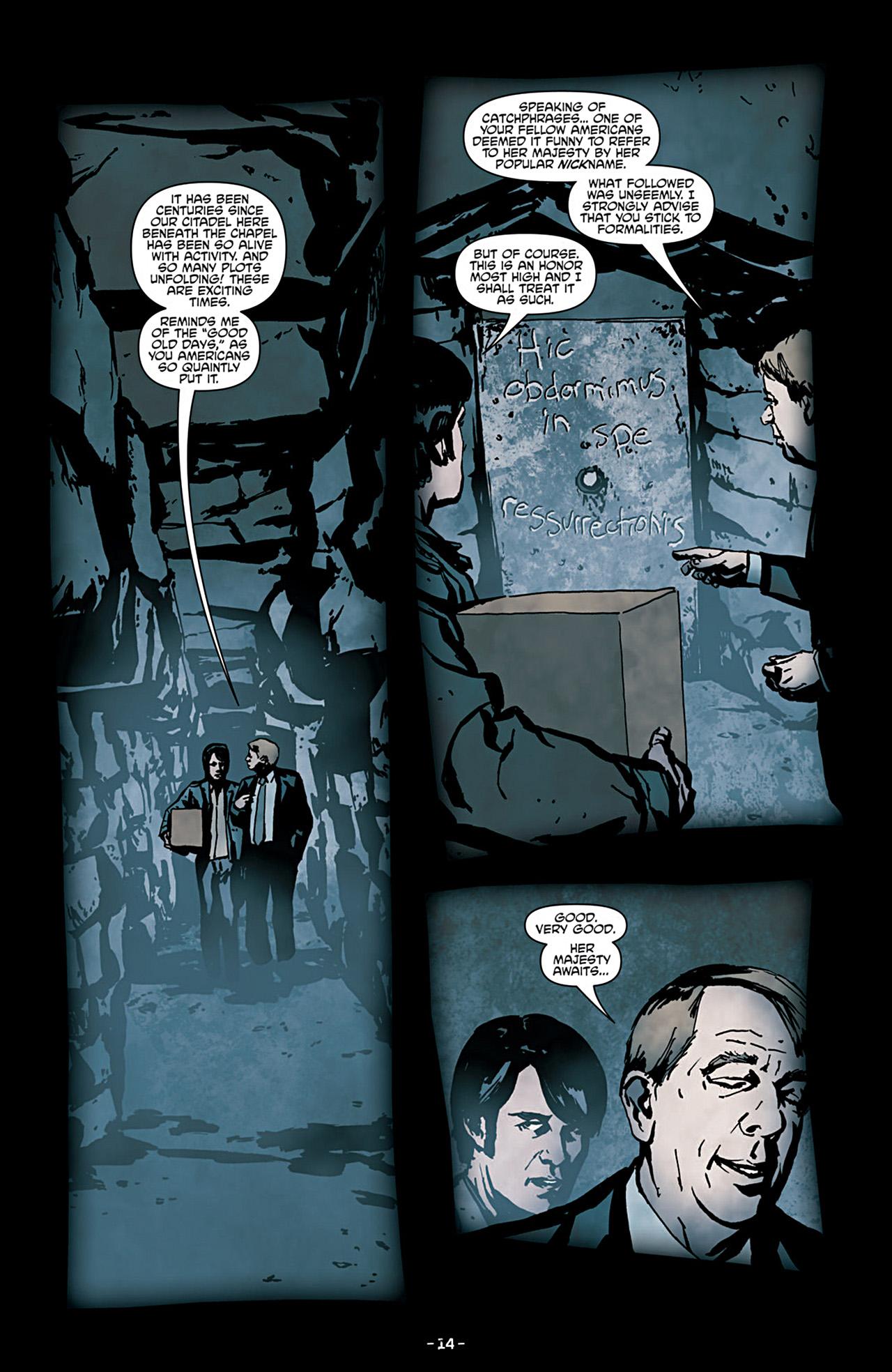 Read online True Blood (2012) comic -  Issue #3 - 16