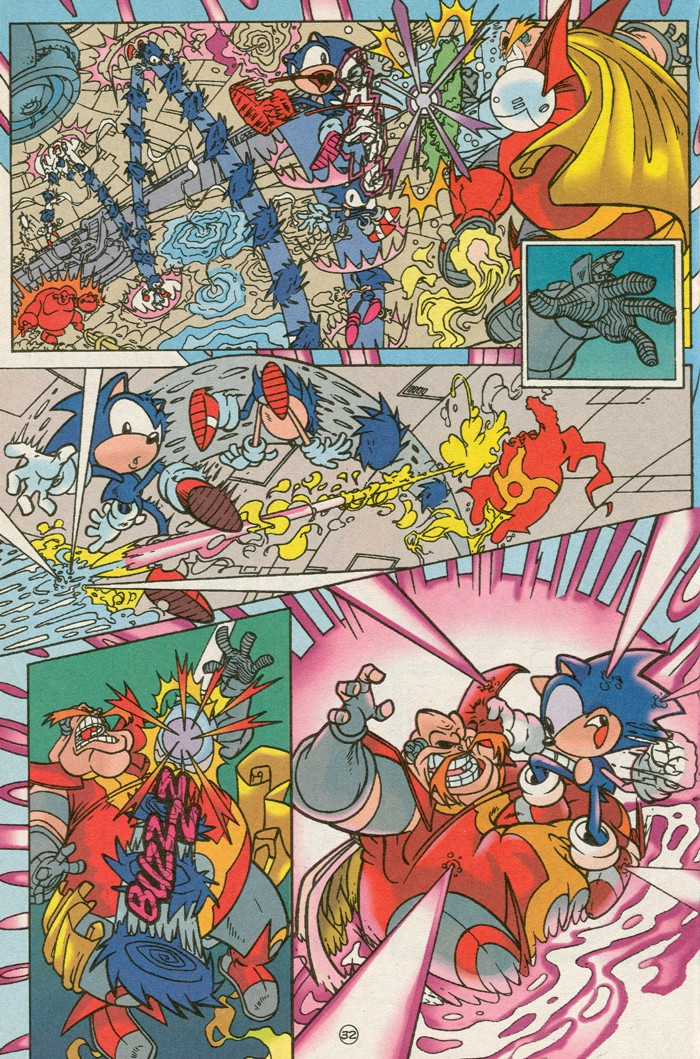 Read online Sonic Super Special comic -  Issue #6 - The big 50 - 33