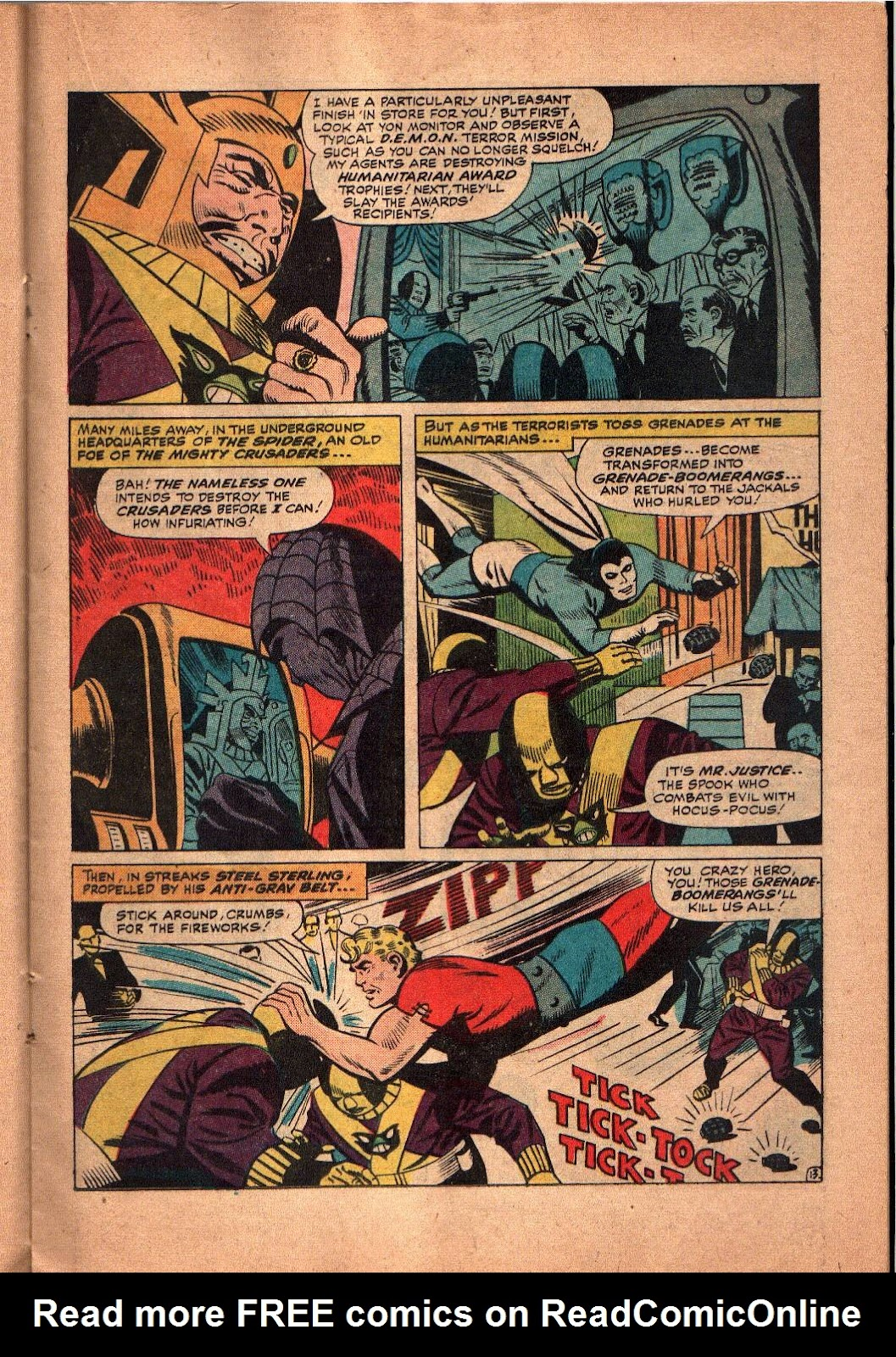The Mighty Crusaders (1965) Issue #5 #5 - English 14