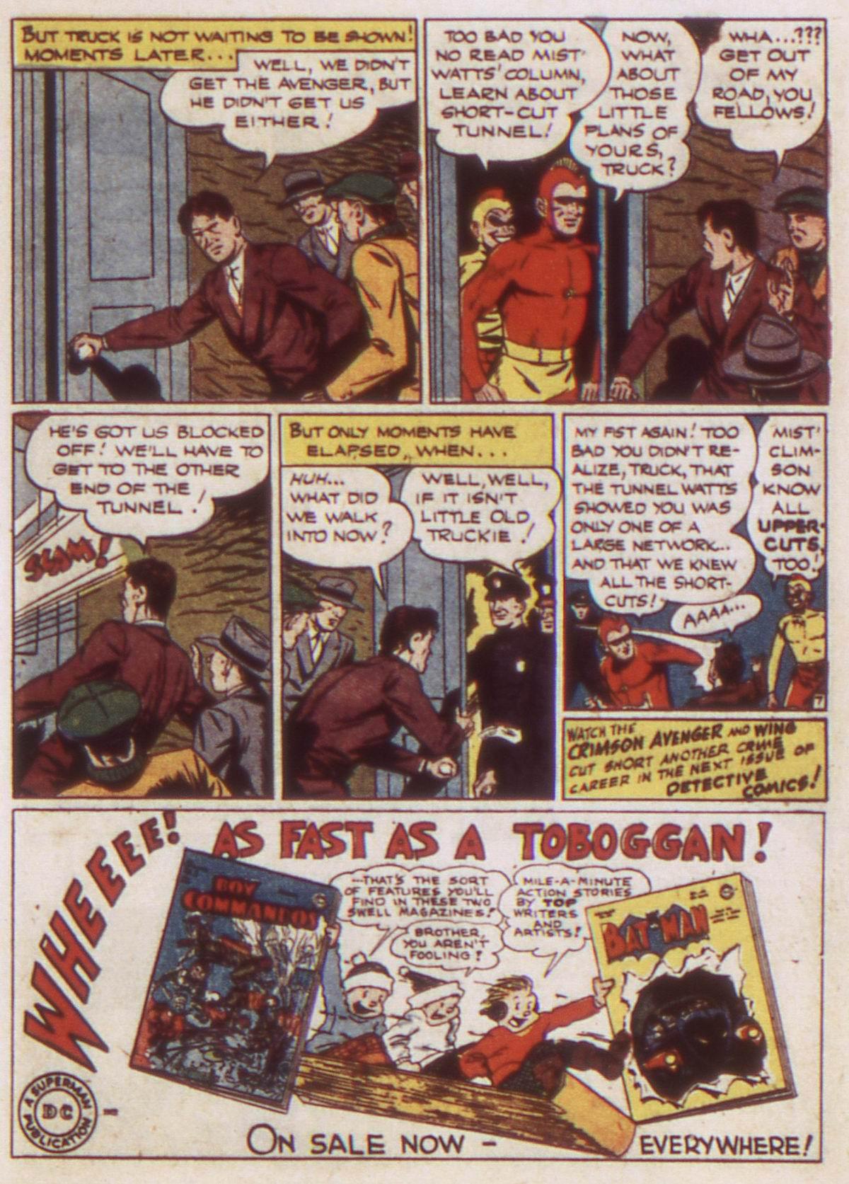 Read online Detective Comics (1937) comic -  Issue #82 - 31