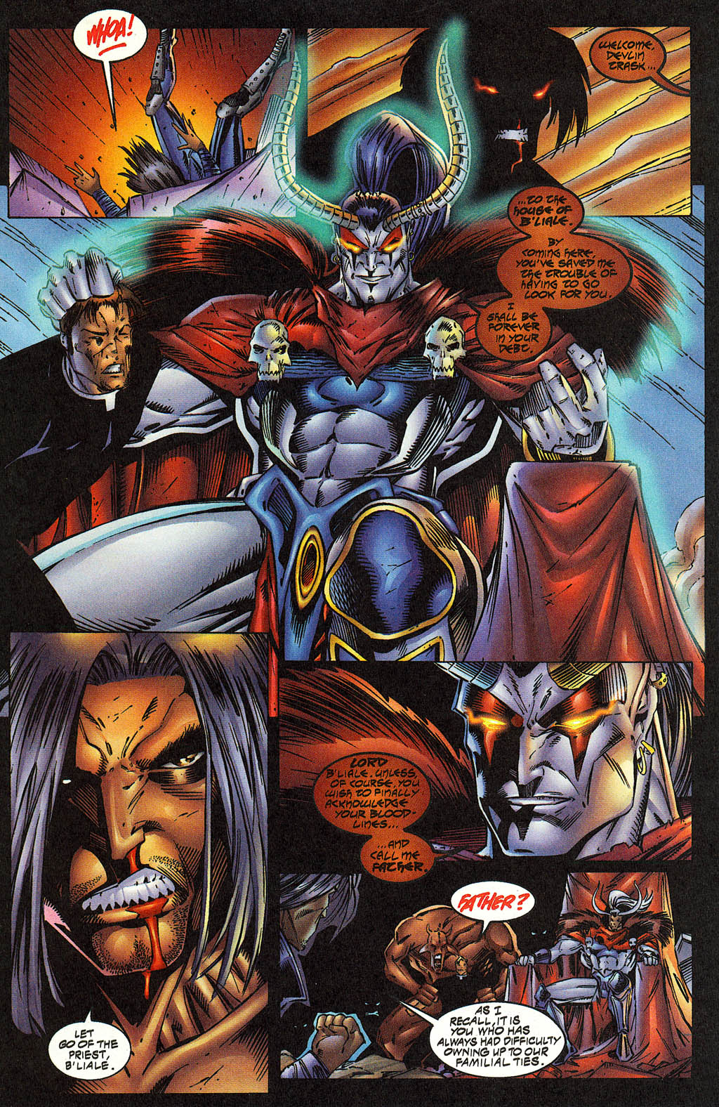 Read online Avengelyne (1996) comic -  Issue #12 - 8