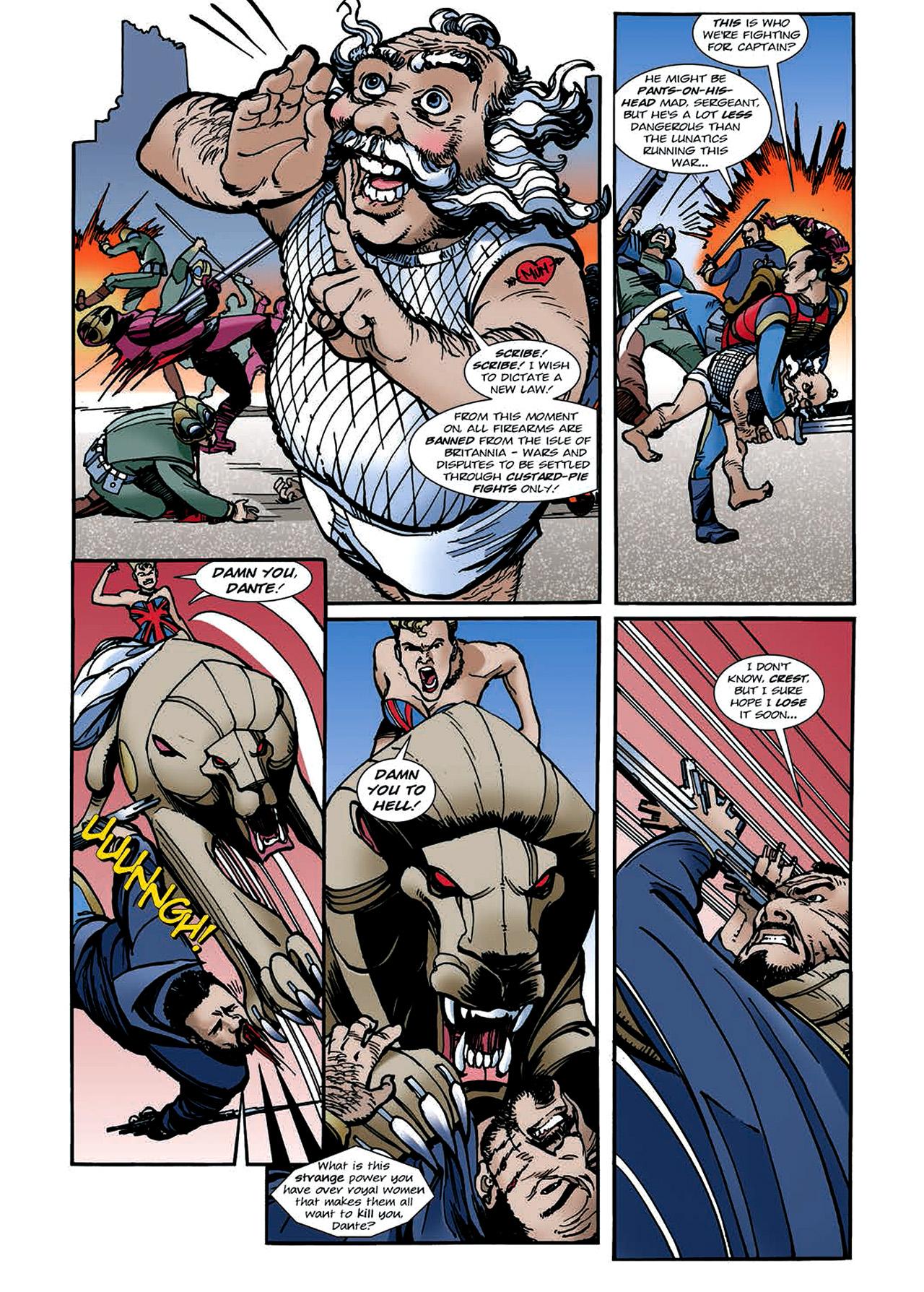 Read online Nikolai Dante comic -  Issue # TPB 4 - 106