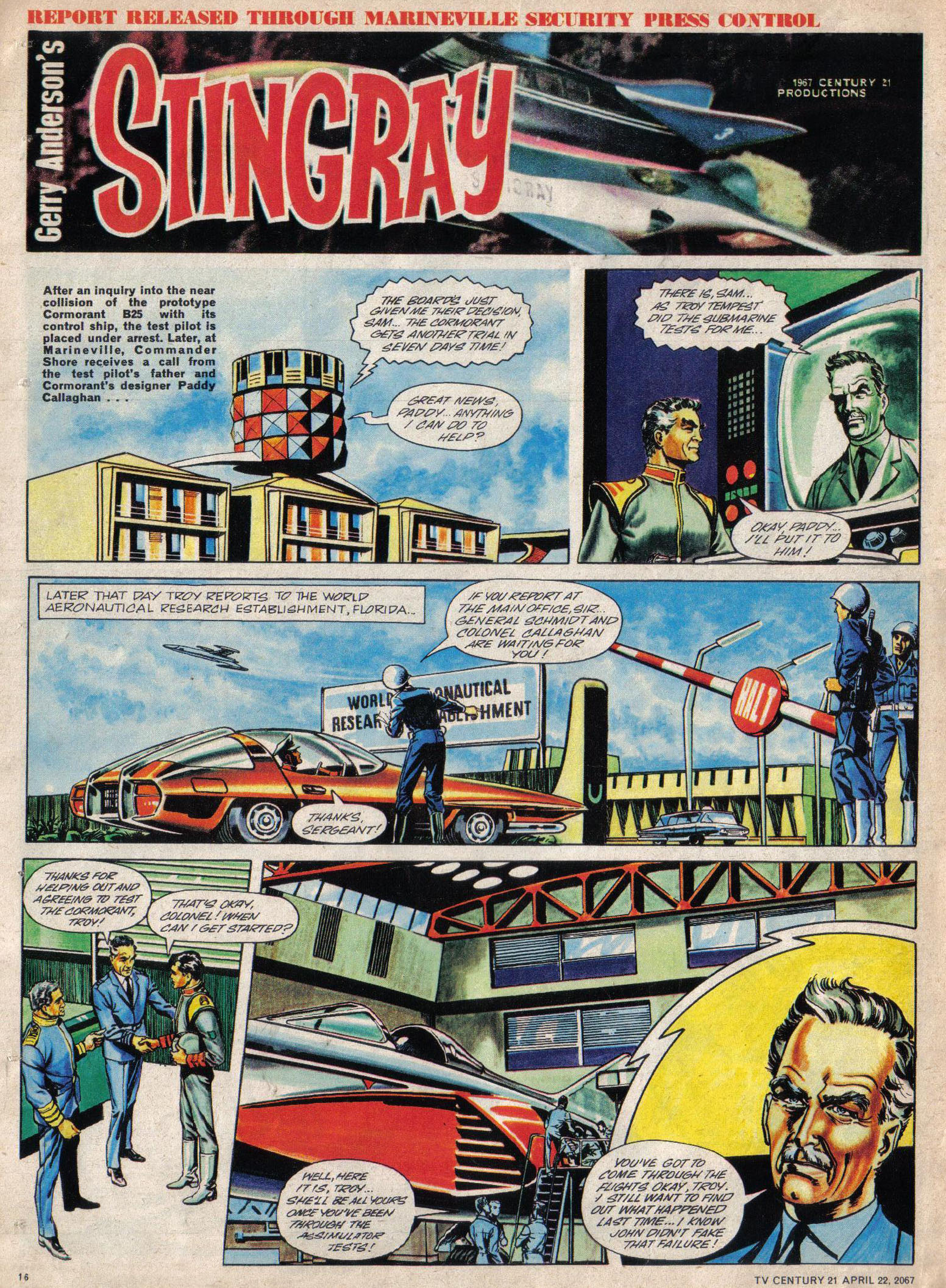 Read online TV Century 21 (TV 21) comic -  Issue #118 - 15