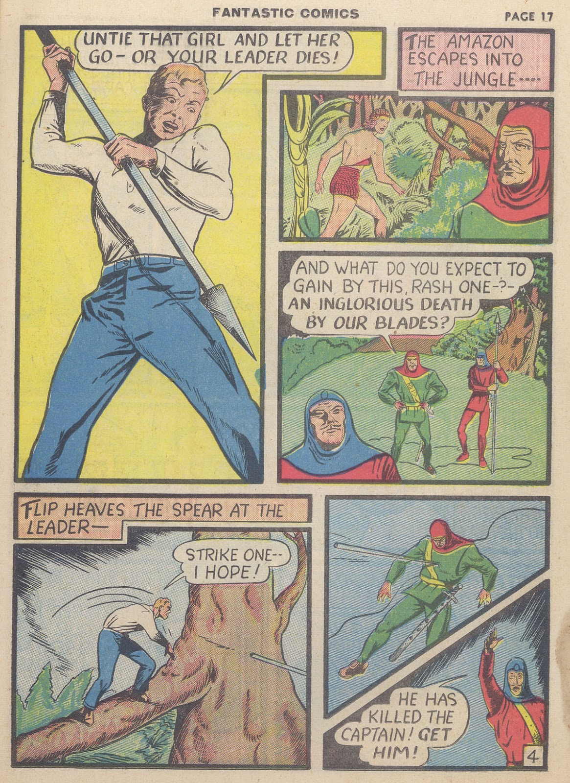 Read online Fantastic Comics comic -  Issue #9 - 19