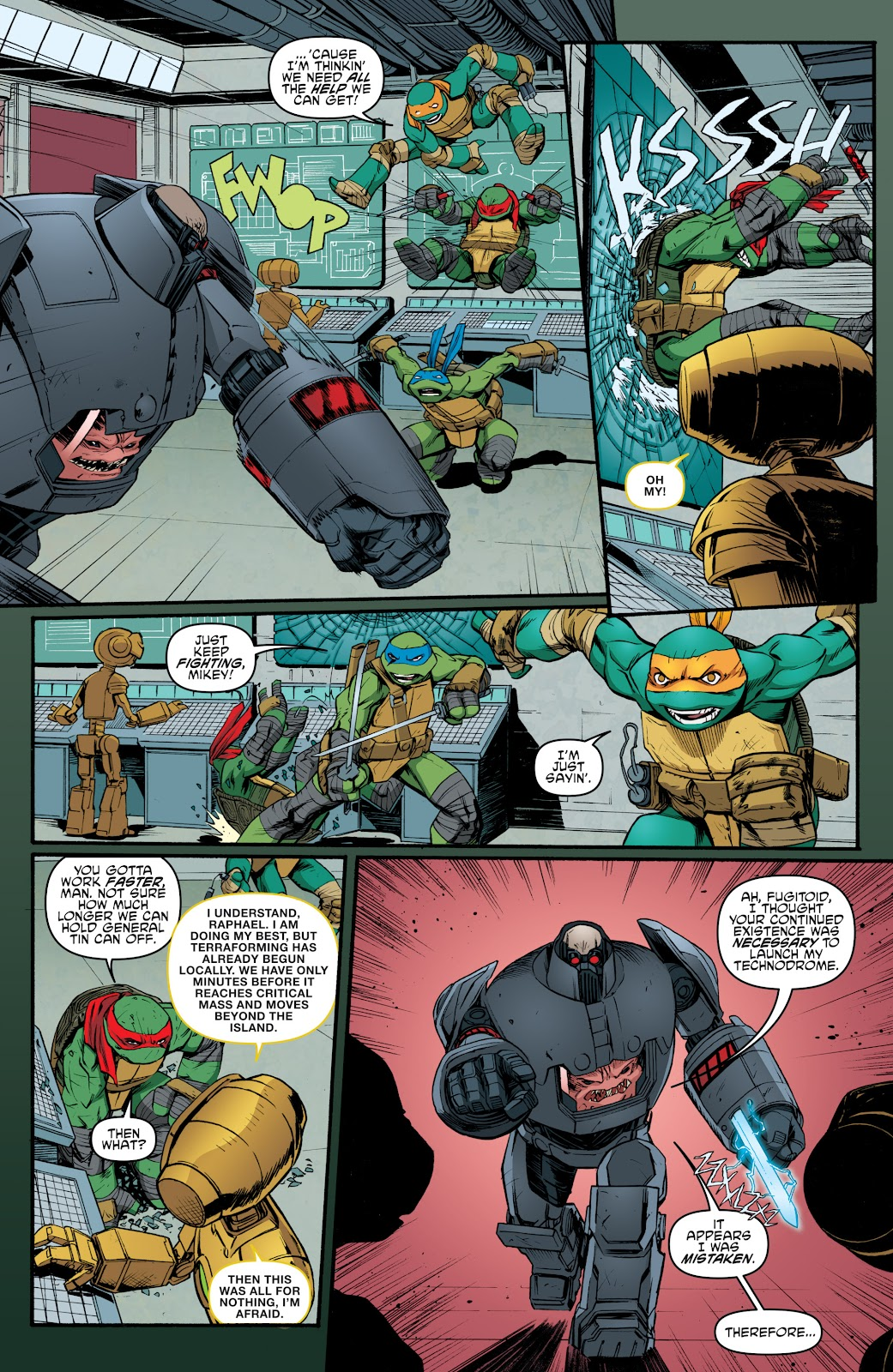 Read online Teenage Mutant Ninja Turtles: The IDW Collection comic -  Issue # TPB 5 (Part 4) - 41