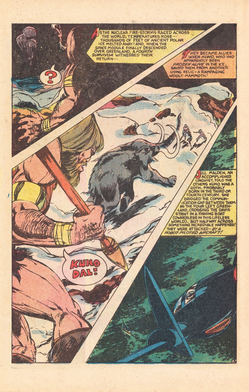 Read online Doomsday   1 (1975) comic -  Issue #8 - 5