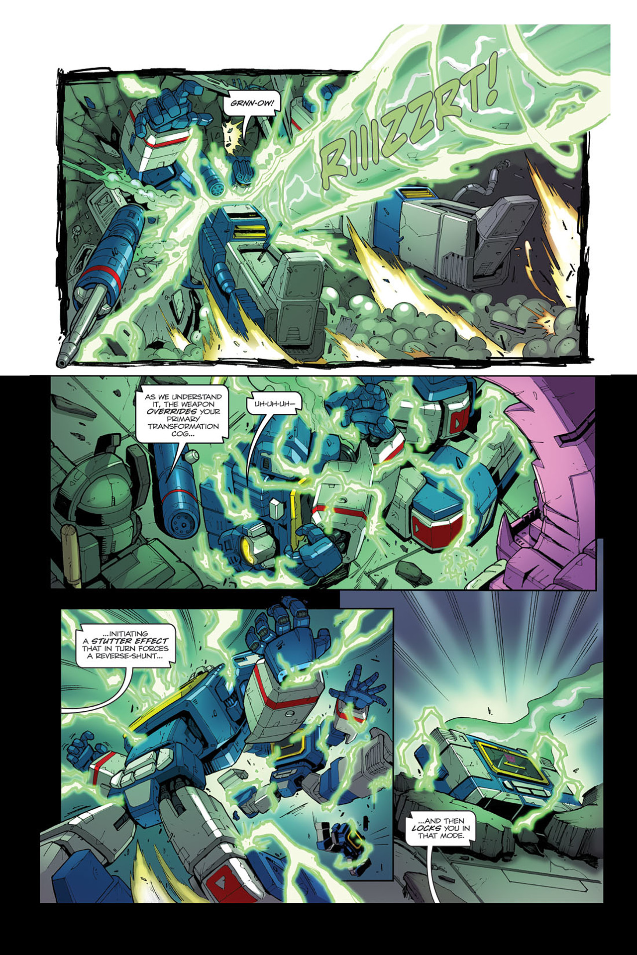 Read online Transformers Spotlight: Soundwave comic -  Issue # Full - 21