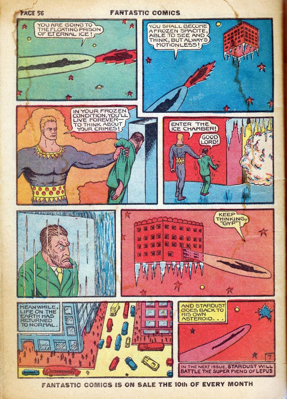 Read online Fantastic Comics comic -  Issue #7 - 58