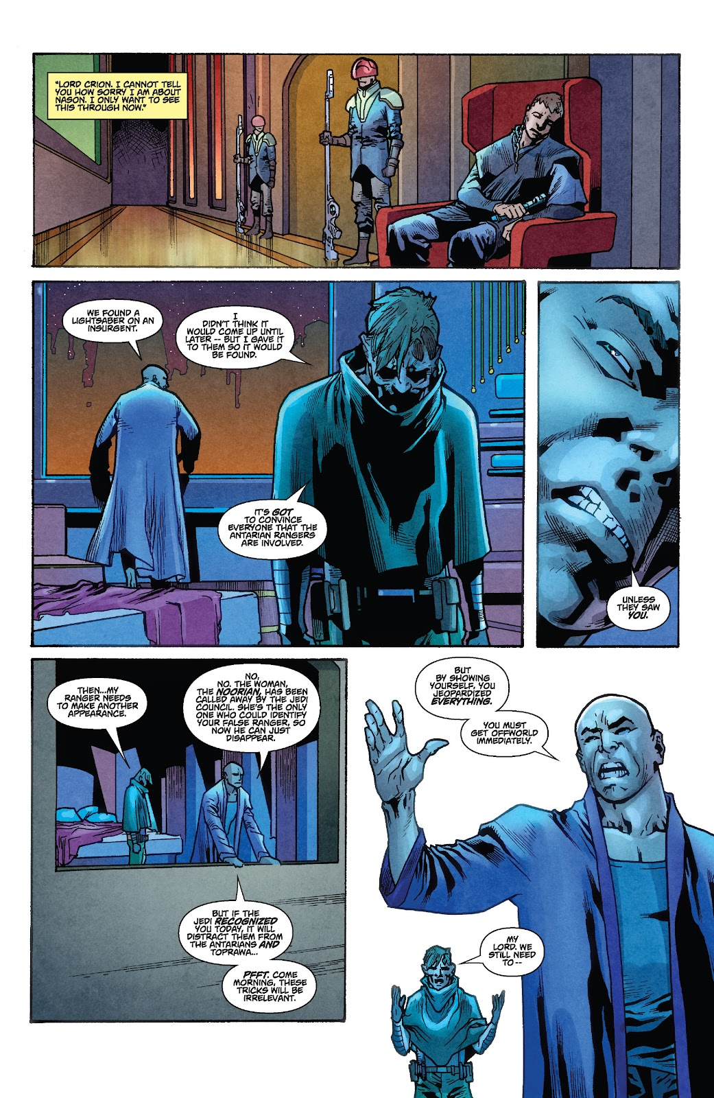 Read online Star Wars Legends: Rise of the Sith - Epic Collection comic -  Issue # TPB 1 (Part 2) - 68