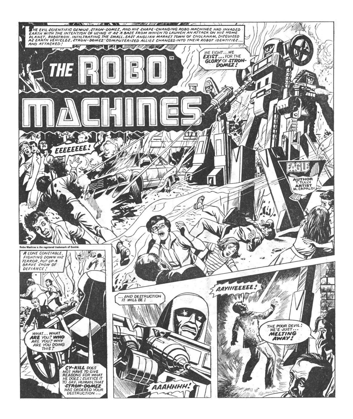 Read online Robo Machines comic -  Issue # TPB - 18