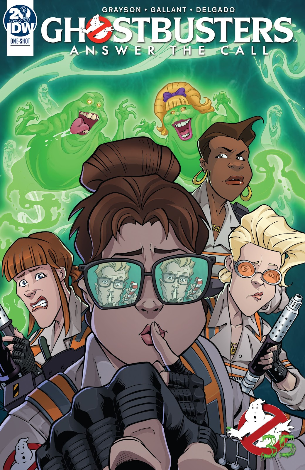 Read online Answer the Call Ghostbusters 35th Anniversary comic -  Issue # Full - 1