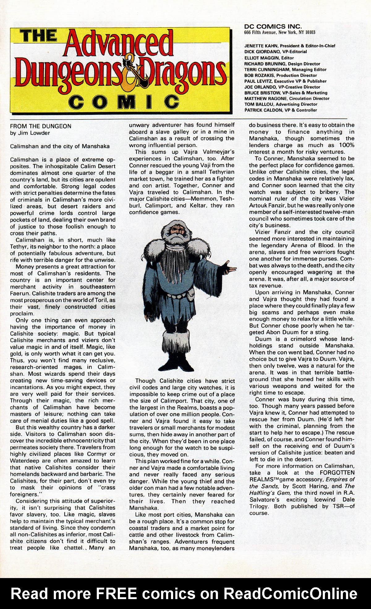 Read online Advanced Dungeons & Dragons comic -  Issue #16 - 30