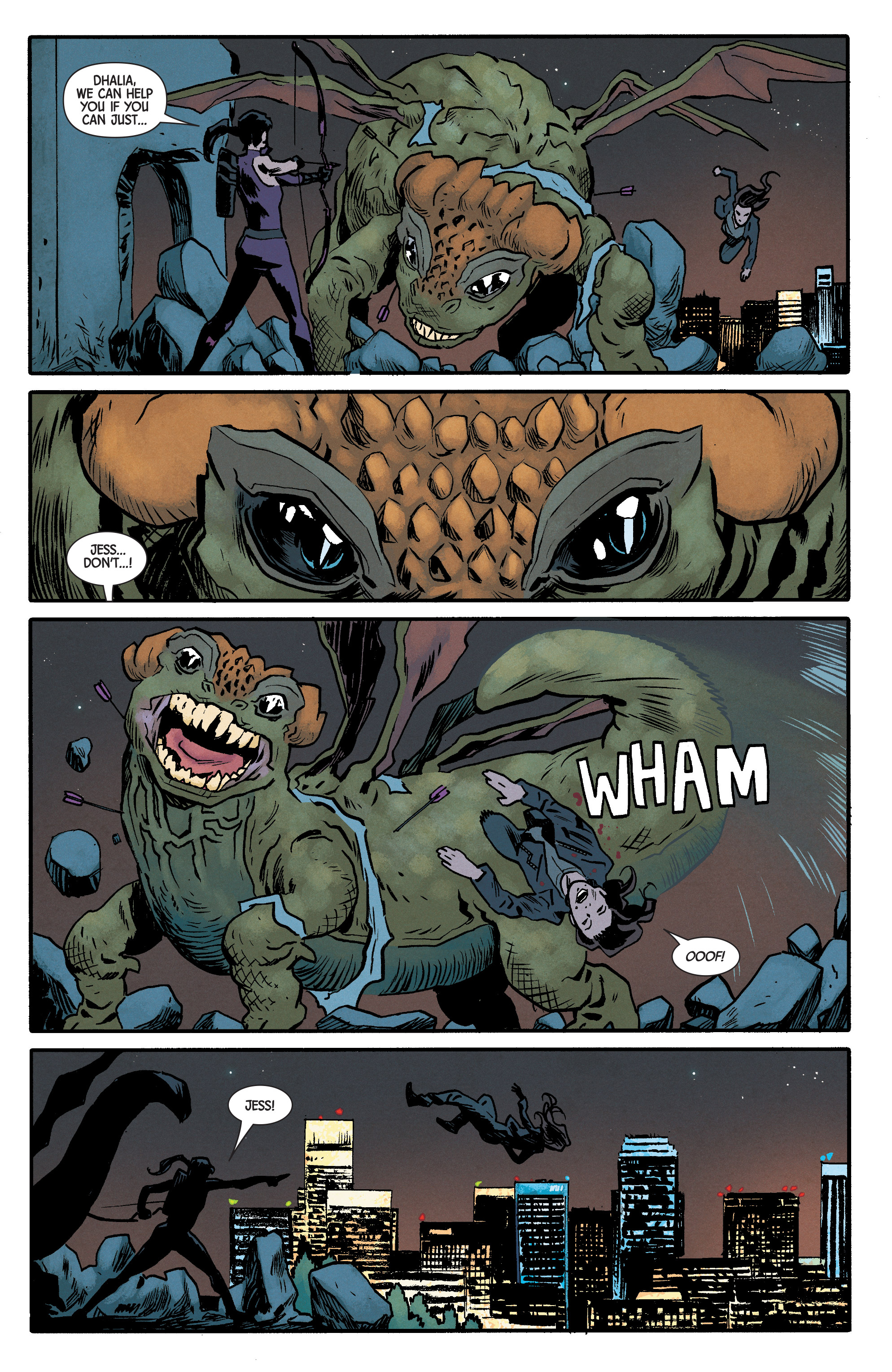 Read online Hawkeye (2016) comic -  Issue #6 - 15