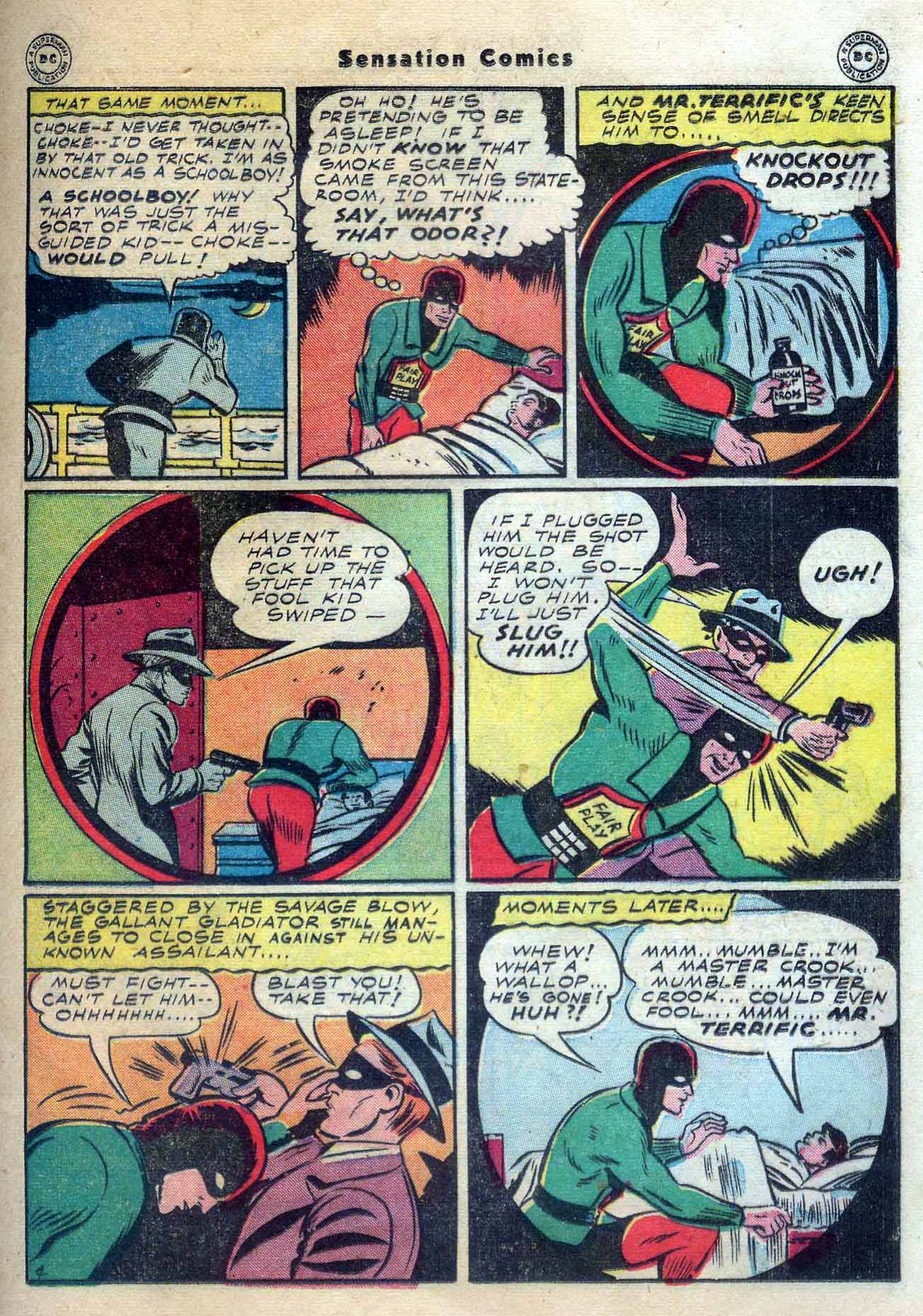 Read online Sensation (Mystery) Comics comic -  Issue #56 - 35