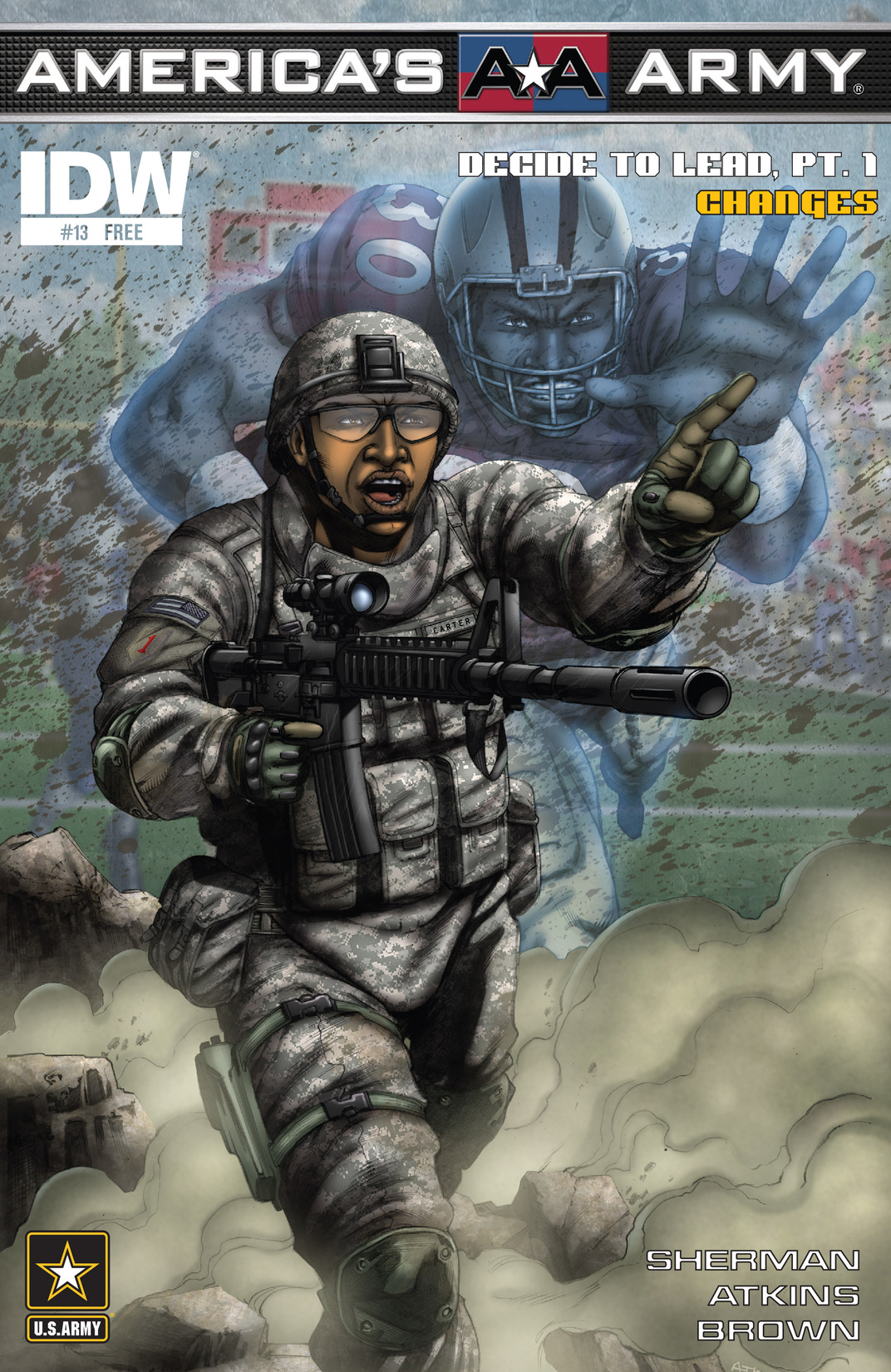 Read online America's Army comic -  Issue #13 - 1