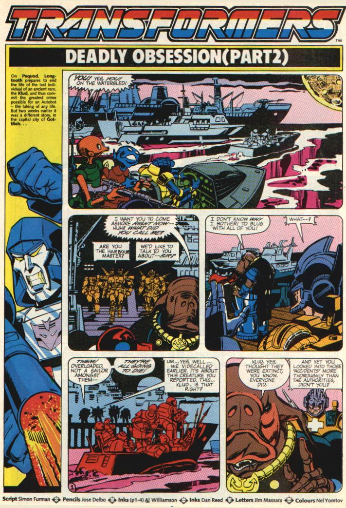 The Transformers (UK) 287 Page 2