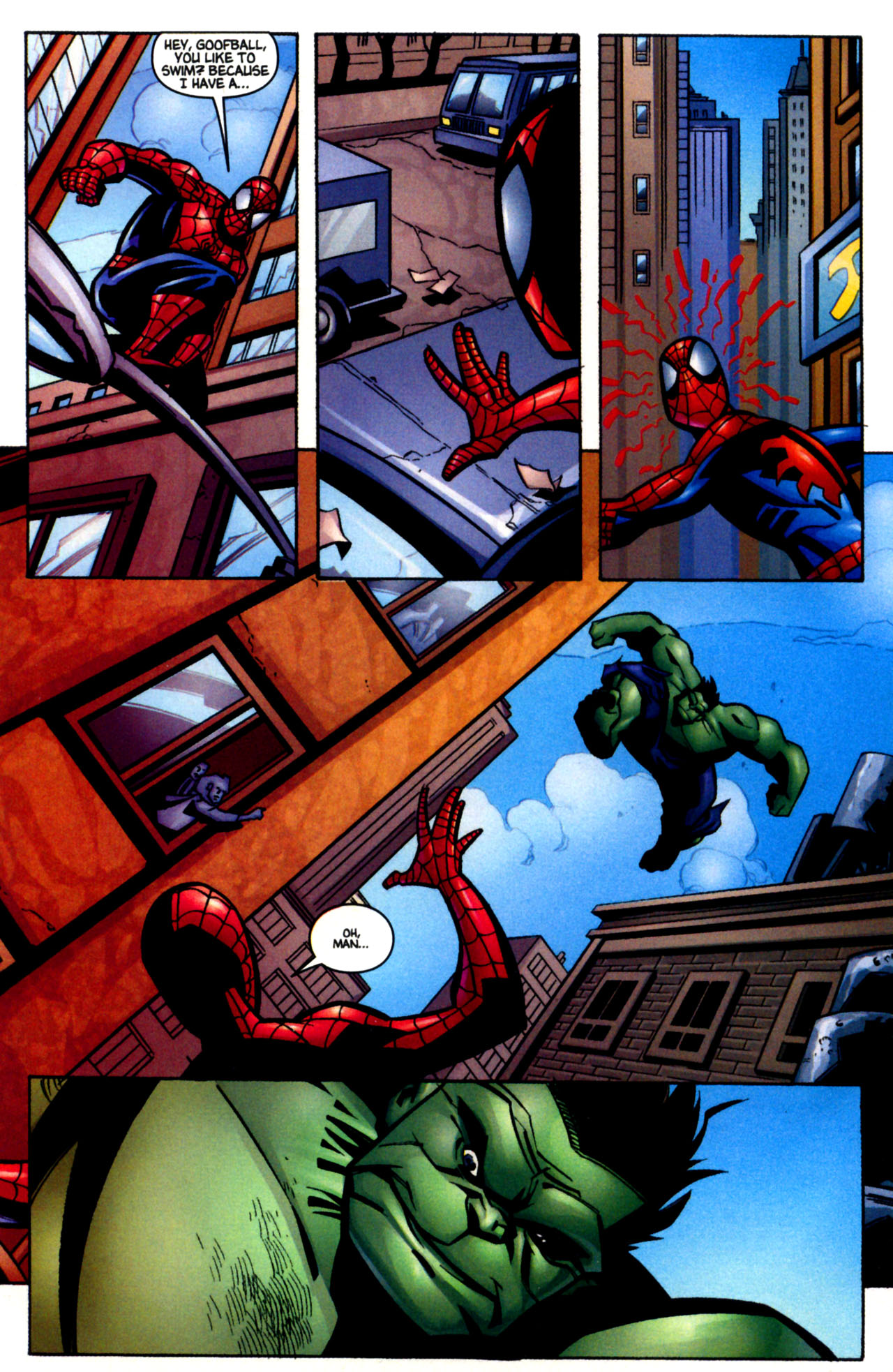 Read online Ultimate Marvel Team-Up comic -  Issue #3 - 9