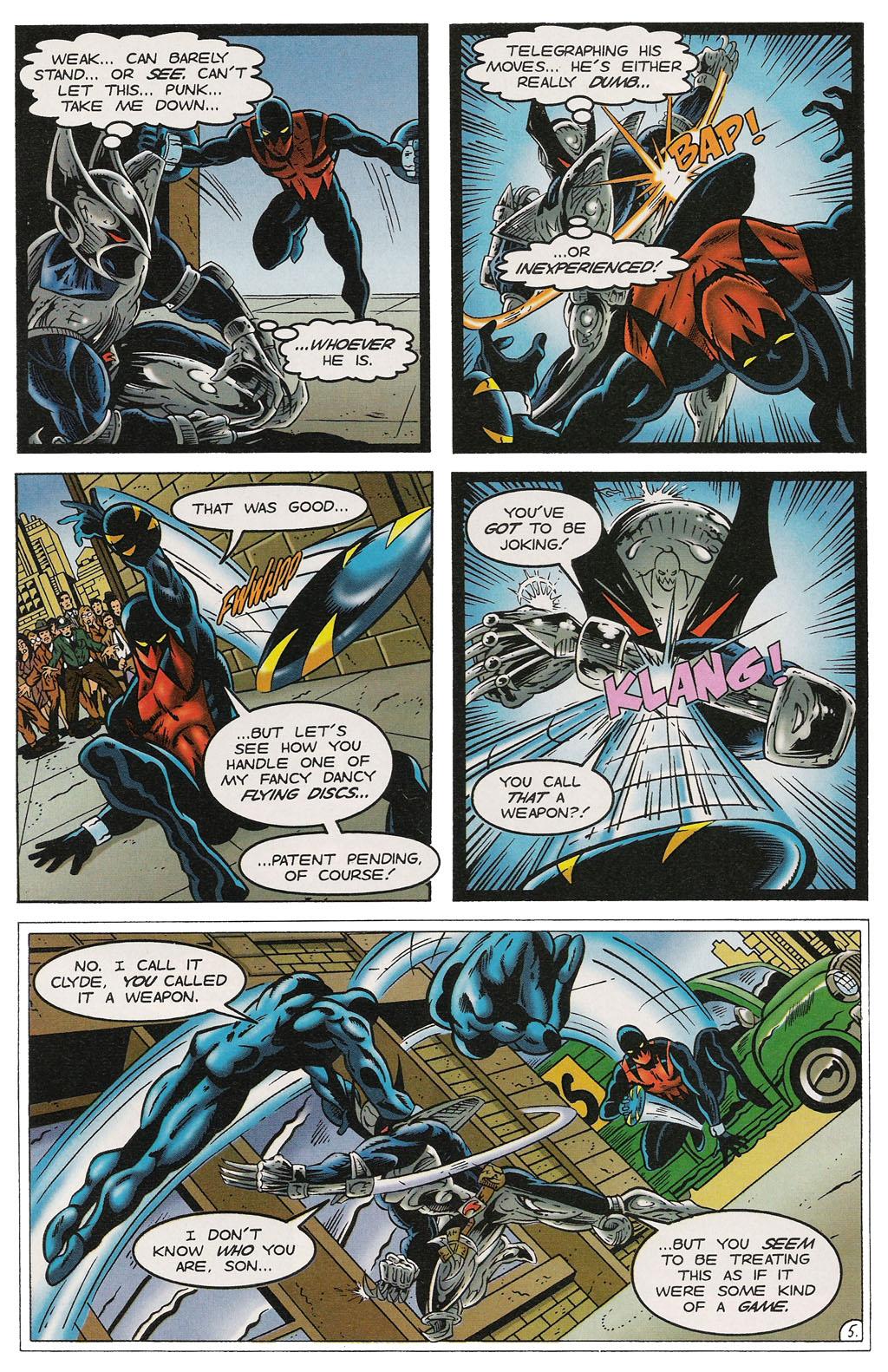 Read online ShadowHawk comic -  Issue #14 - 6