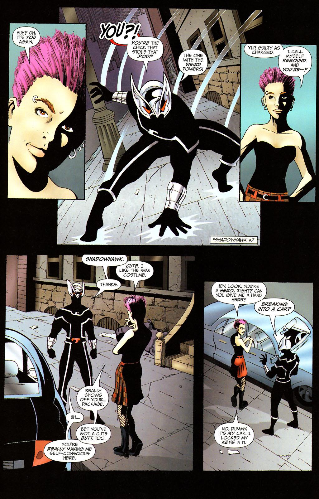 Read online ShadowHawk (2005) comic -  Issue #14 - 6