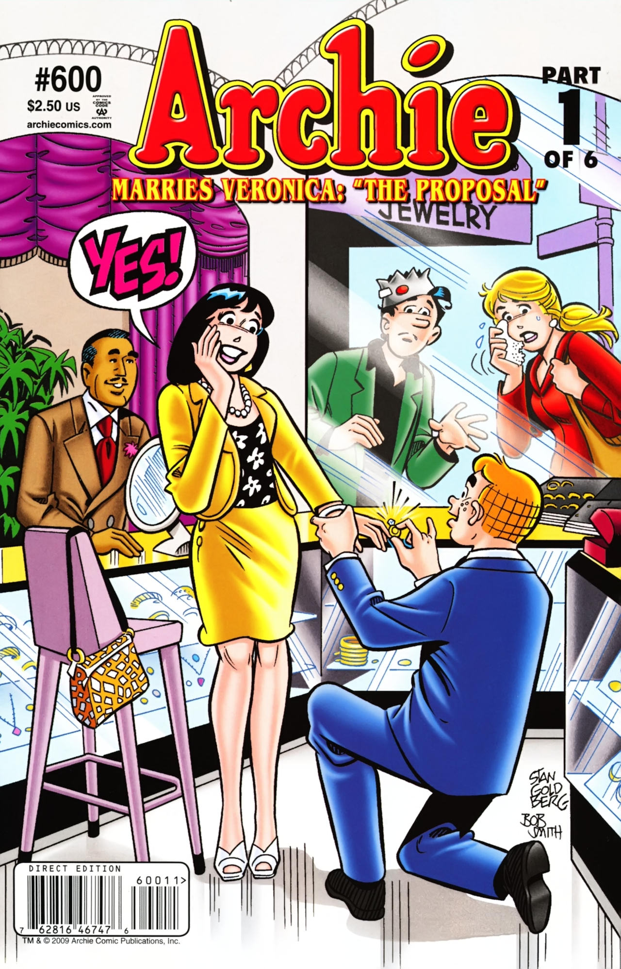 Read online Archie (1960) comic -  Issue #600 - 1