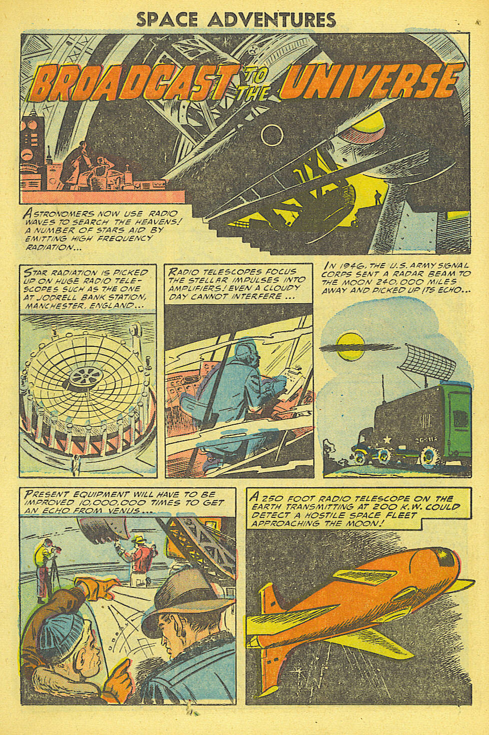 Read online Space Adventures comic -  Issue #15 - 21