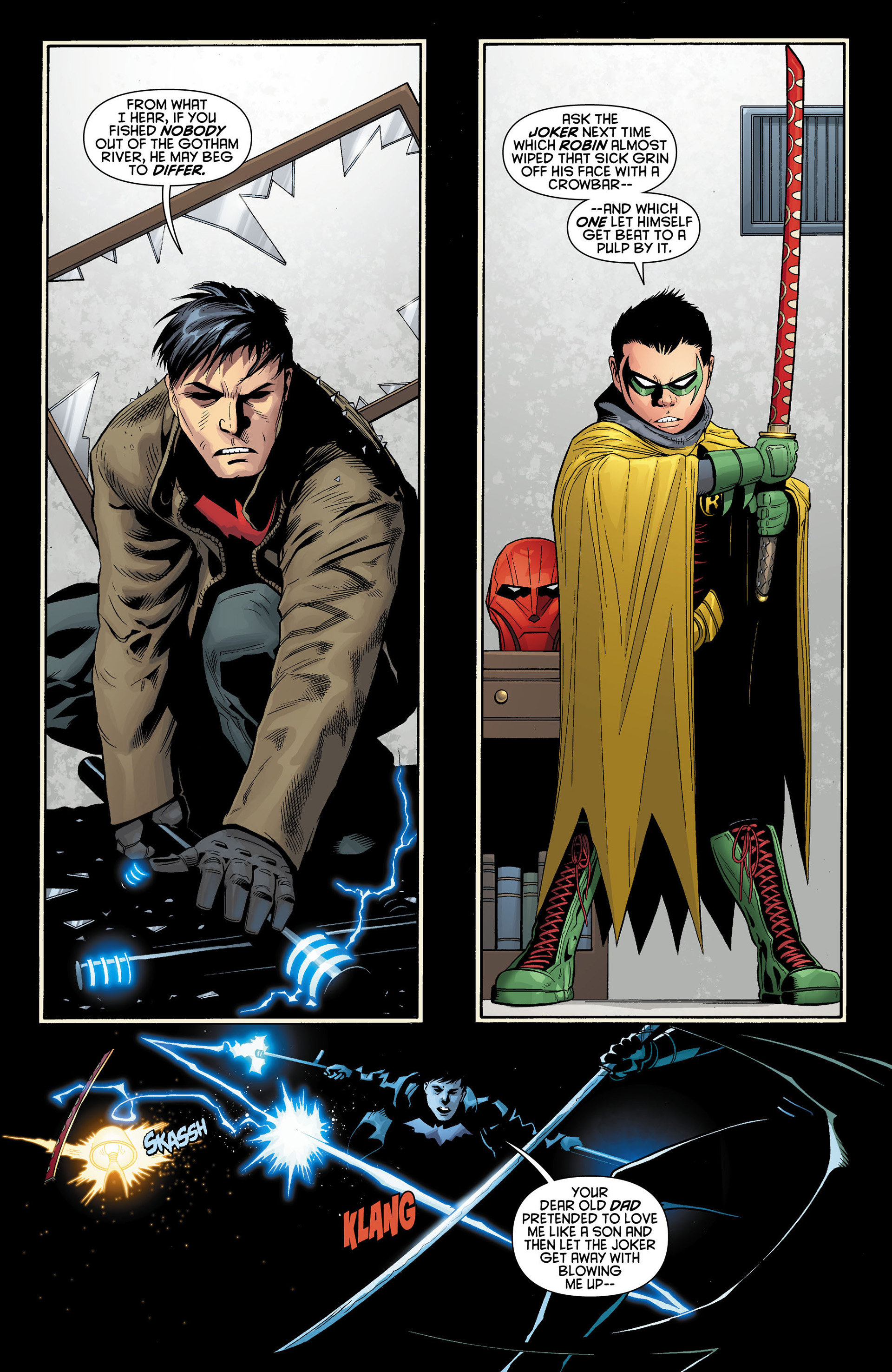 Read online Batman and Robin (2011) comic -  Issue #11 - 5