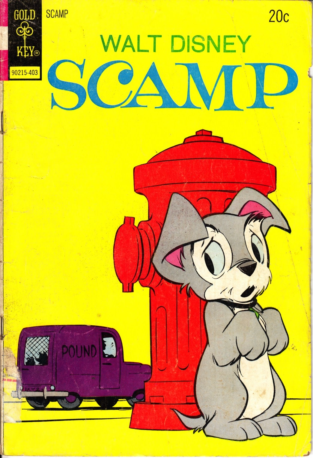 Scamp (1967) issue 16 - Page 1
