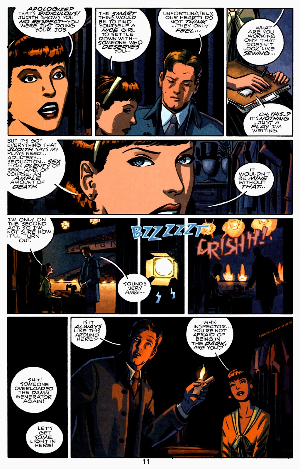 Read online Beware The Creeper (2003) comic -  Issue #2 - 12