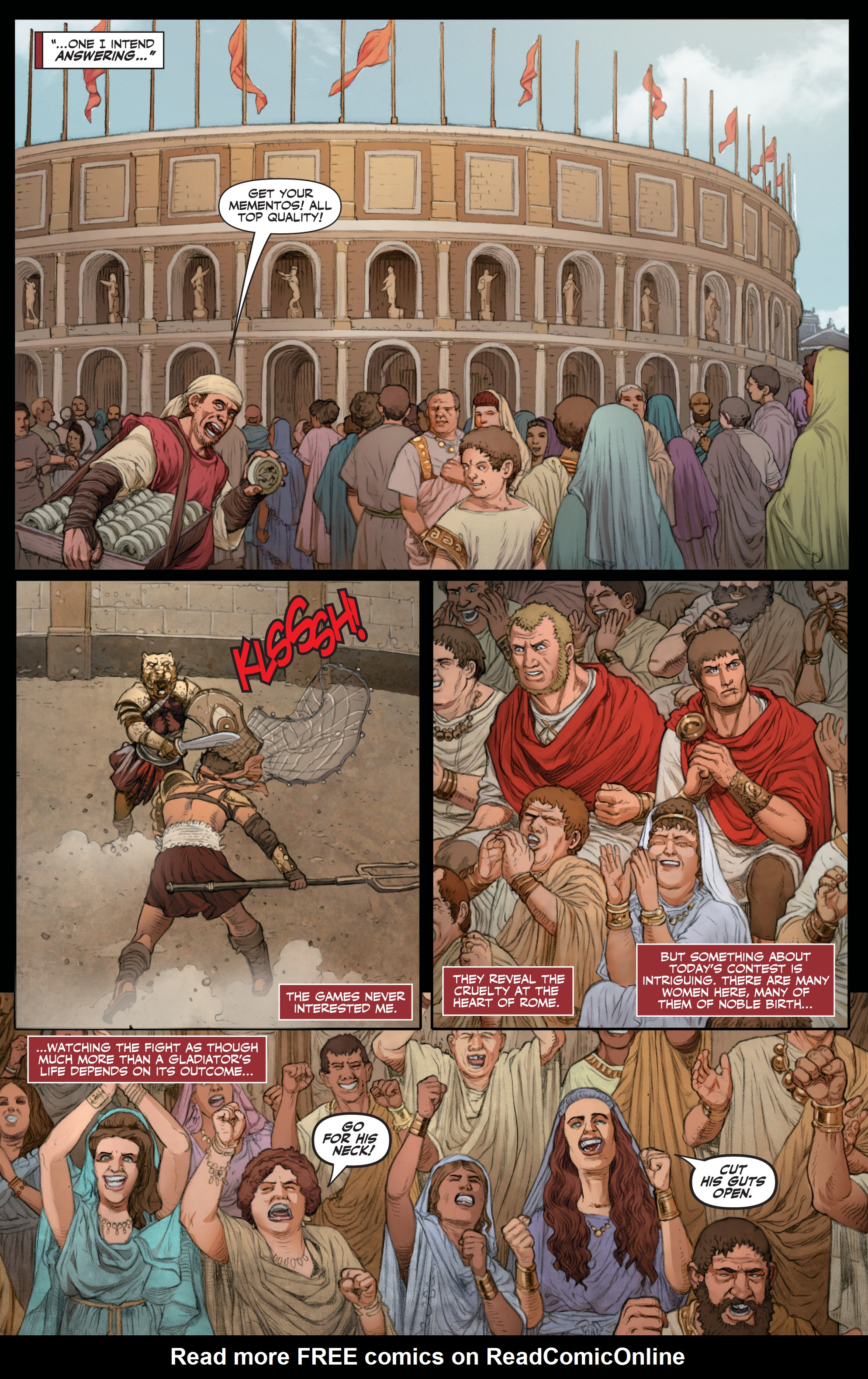 Read online Britannia: We Who Are About To Die comic -  Issue #1 - 24