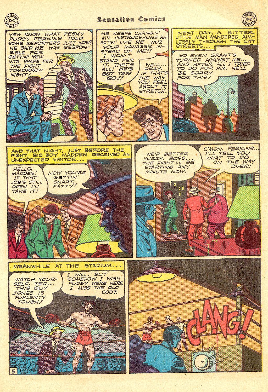 Read online Sensation (Mystery) Comics comic -  Issue #57 - 47