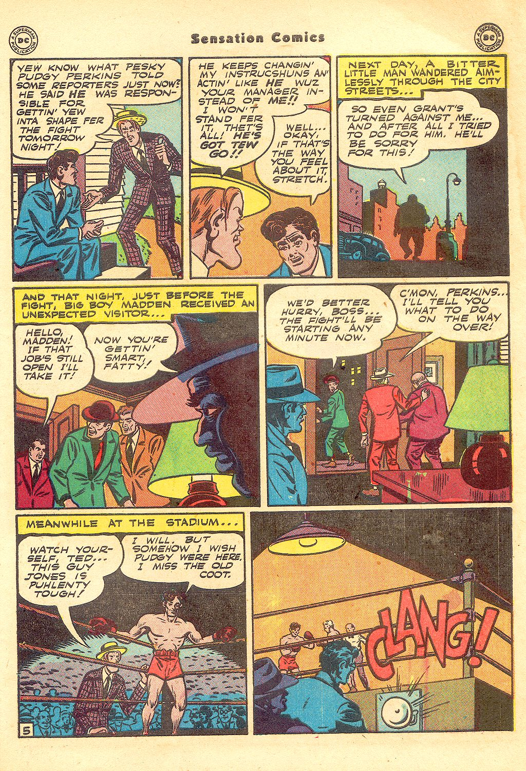 Sensation (Mystery) Comics issue 57 - Page 47