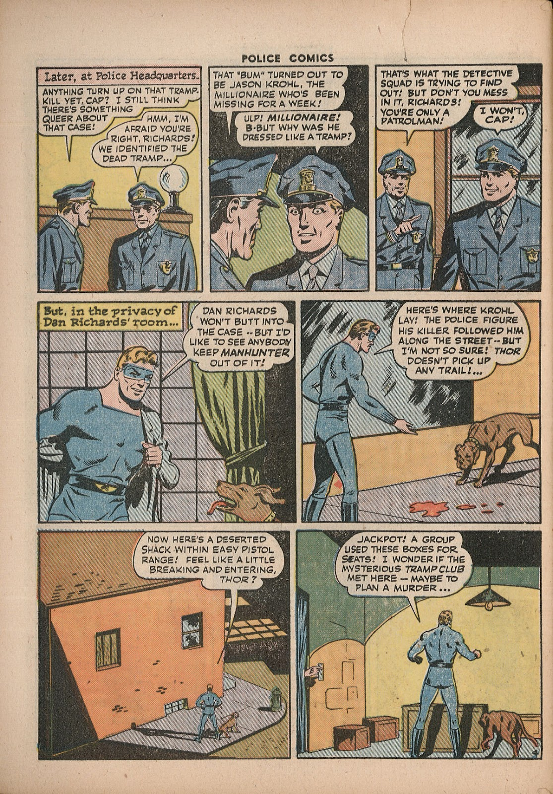 Police Comics issue 43 - Page 52